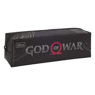 Estojo Simples God Of War - Tilibra