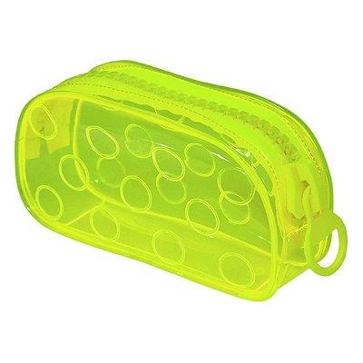 Estojo Bubble Neon - Amarelo - DAC