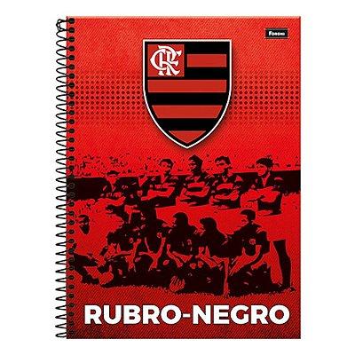 Caderno Flamengo - Rubro-Negro - 10 Matérias - Foroni