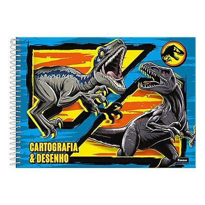 Caderno de Cartografia e Desenho - Dinossauros - Foroni