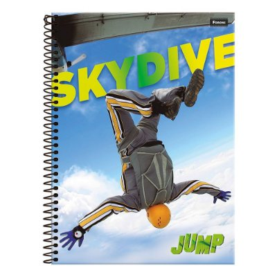 Caderno Jump - Skydive - 1 Matéria - Foroni