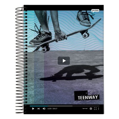 Caderno Teen Way - Vídeo - 1 Matéria - Jandaia