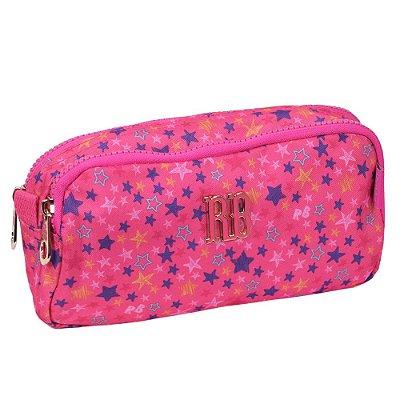Estojo Duplo Rebecca Bonbon Star - Rosa - Clio Style