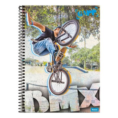 Caderno Gapp - BMX - 1 Matéria - Foroni