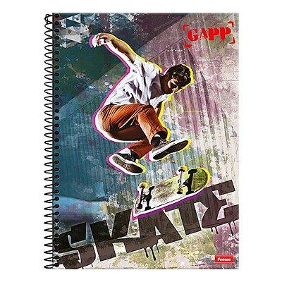 Caderno Gapp - Manobra de Skate - 1 Matéria - Foroni