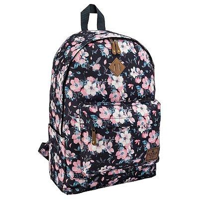 Mochila de Costas Para Notebook  Académie Plus Fashion II Floral - Tilibra