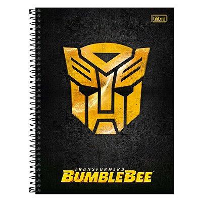 Caderno Transformes - Bumblebee - 1 matéria - Tilibra