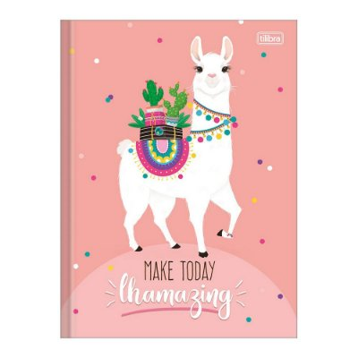 Caderno 1/4 Brochura Hello! - Make Today - 80 Folhas - TIlibra