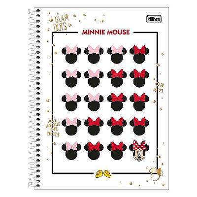 Caderno Minnie - Rostinhos - 1 Matéria - Tilibra