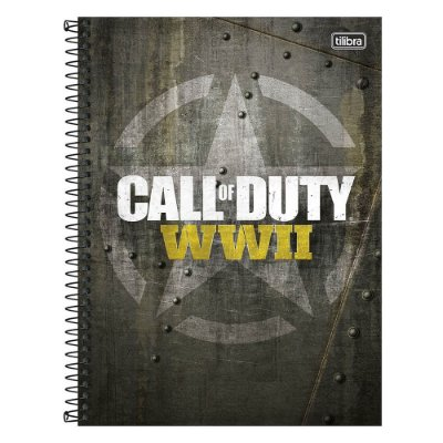 Caderno Call Of Duty - Game - 10 Matérias - Tilibra
