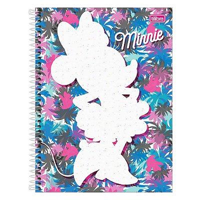 Caderno Minnie - Contorno - 160 Folhas - Tilibra