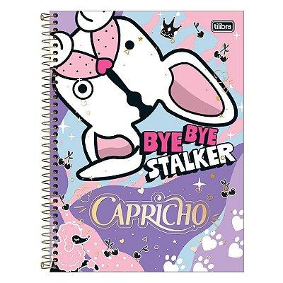 Caderno Capricho - Cachorrinho - 10 Matérias - Tilibra