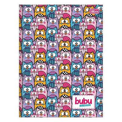 Caderno Brochura Bubu e As Corujinhas - Colorido - 80 Folhas - Tilibra
