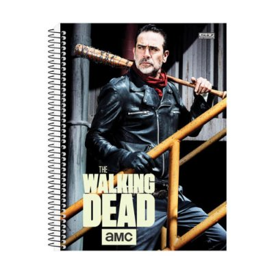 Caderno The Walking Dead - Negan - 1 Matéria - São Domingos