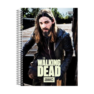 Caderno The Walking Dead - Jesus - 15 Matérias - São Domingos