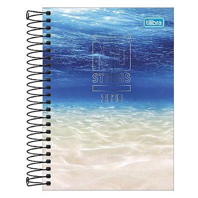 Agenda Diária No Stress 2019 - Água do Oceano - Tilibra
