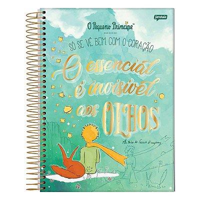 Caderno O Pequeno Príncipe - Verde - 1 Matéria - Jandaia