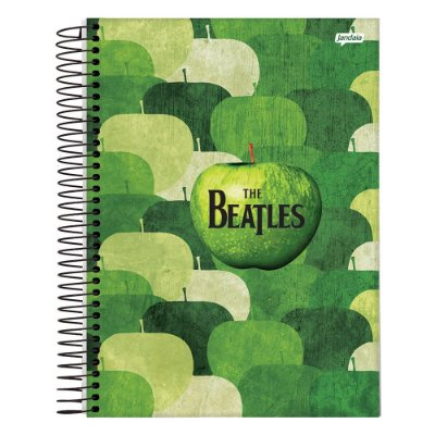 Caderno The Beatles - Verde - 10 Matérias - Jandaia