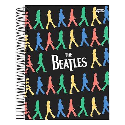 Caderno The Beatles - Preto - 10 Matérias - Jandaia