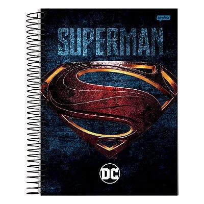 Caderno DC Comics - Superman - 1 matéria - Jandaia
