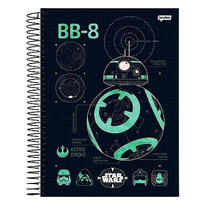 Caderno Star Wars - BB-8 - 1 Matéria