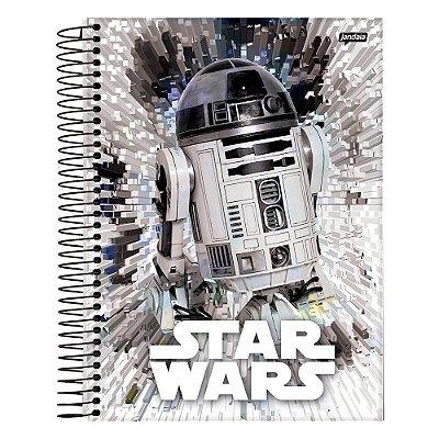 Caderno Star Wars - R2-D2 - 10 Matérias