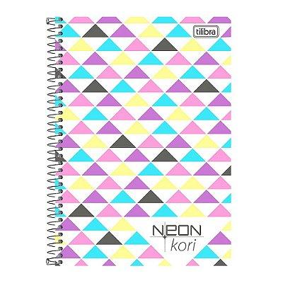 Caderno 1/4 Espiral Neon Kori - 96 Folhas - Tilibra