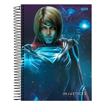 Caderno Injustice 2 - Supergirl - 10 Matérias - Jandaia