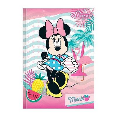 Caderno 1/4 Brochura Minnie - Suco - 96 Folhas - Tilibra
