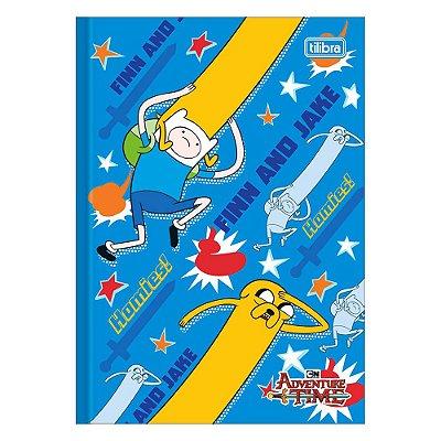 Caderno Brochura Adventure Time - Finn and Jake - Tilibra