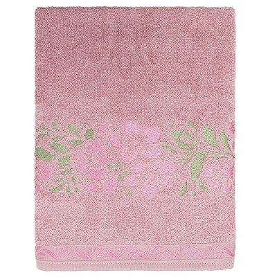 Toalha de Banho Carmélia - Rosa - Karsten