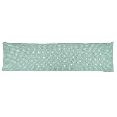 Fronha Para Body Pillow All Design Poá - Mini Verde - Altenburg