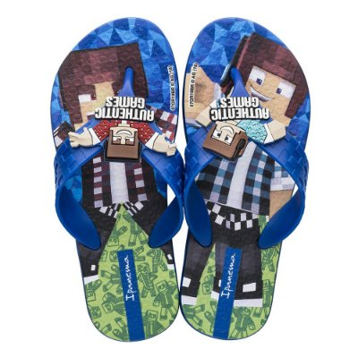 Chinelo Infantil Authentic Games - Azul - Ipanema