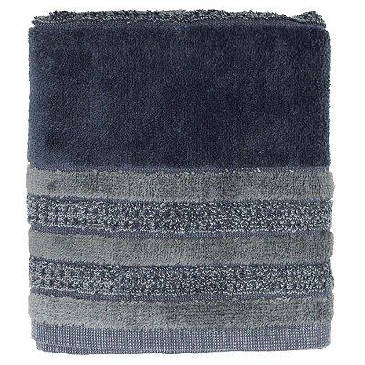 Toalha de Rosto Elegant Colors - Marinho/Cinza - Buddemeyer