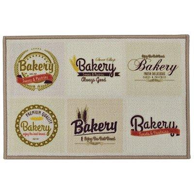 Tapete de Cozinha 40cm x 60cm - Bakery - Inter Home