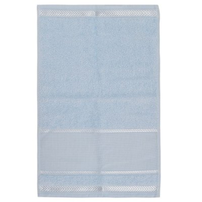 Toalha de Lavabo Para Bordar Sabrine - Azul - Karsten