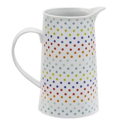 Jarra em Porcelana Dots Color 1L - Urban