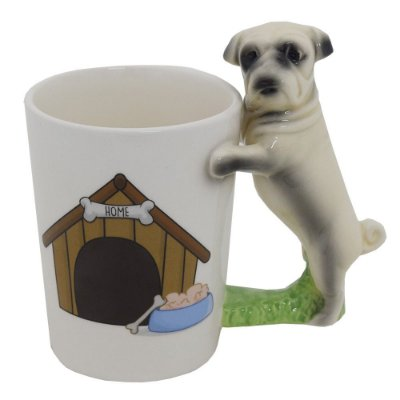 Caneca Fun 350ml - Pug - Dynasty