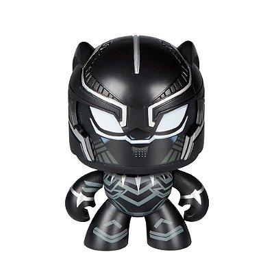 Figura Mighty Muggs Marvel - Pantera Negra - Hasbro