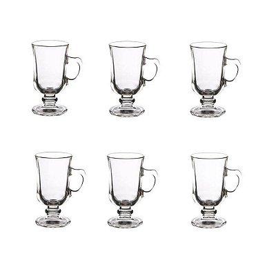 Conjunto de Xícaras Para Cappuccino 110ml - 6 Peças - Wincy