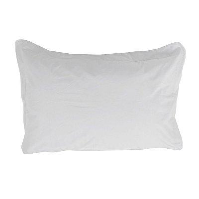 Fronha Fashion Percal 200 Fios - Branco - Naturalle