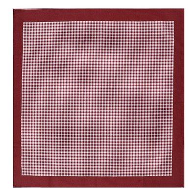 Toalha de Mesa Picnic Vermelho - 78 x 78 cm - Karsten