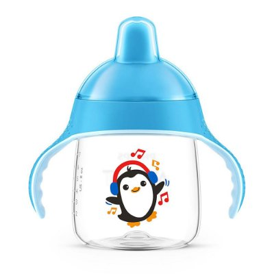 Copo Pinguim com Alças 260ml - Philips Avent