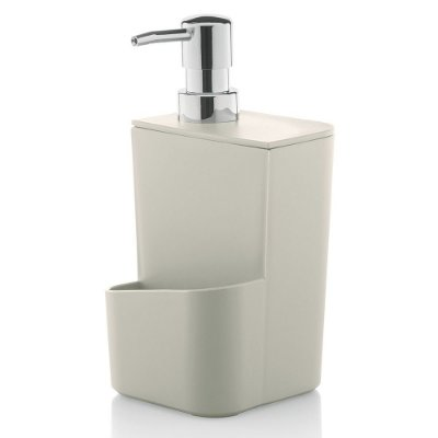 Dispenser de Detergente 650ml - Bege - Ou