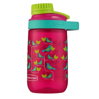 Garrafa Infantil 414ml - Rosa - Rubbermaid