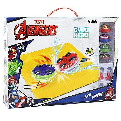 Pista Combate Gyro Hero Marvel Avengers - DTC