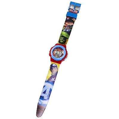 Relógio Digital Infatil Avengers - DTC