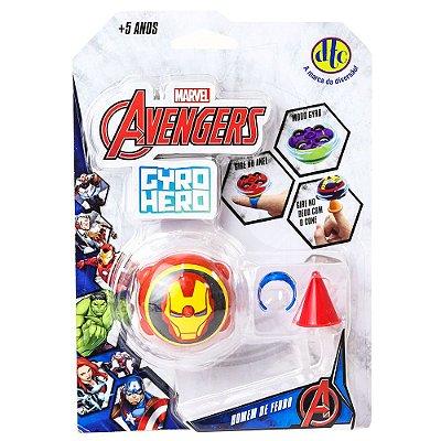 Gyro Hero Marvel Avengers - Homem de Ferro - DTC