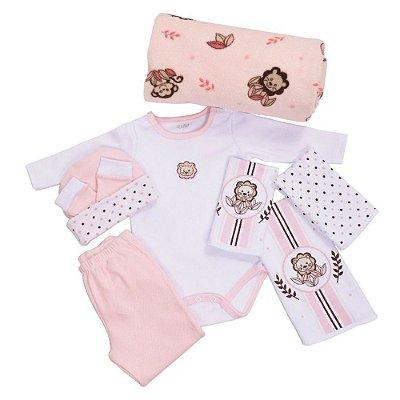 Baby Kit Nuvenzinha 8 Peças - Rosa - Colibri