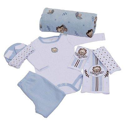 Baby Kit Nuvenzinha 8 Peças - Azul - Colibri